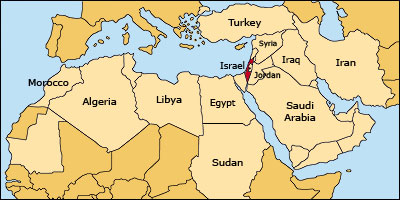 The history of israel a chronological presentation introduction lets start by placing israel on the map israel is located at the eastern end of the mediterranean sea where europe africa and asia meet the country gumiabroncs